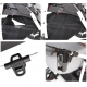 Q9 black Baby Merc kombinovaný kočík s autosedačkou