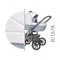 Bebello grey 3v1 Baby Merc kombinovaný kočík