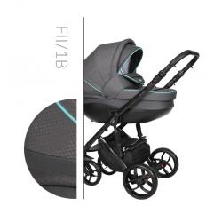 Faster 2 Style black 3v1 Baby Merc kombinovaný kočík