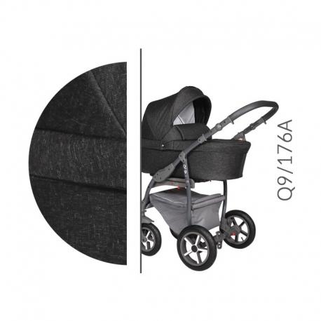 Q9 grey Baby Merc kombinovaný kočík