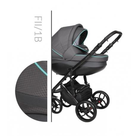 Faster 2 Style black Baby Merc kombinovaný kočík
