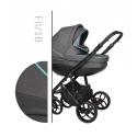 Faster 2 Style black 2v1 Baby Merc kombinovaný kočík