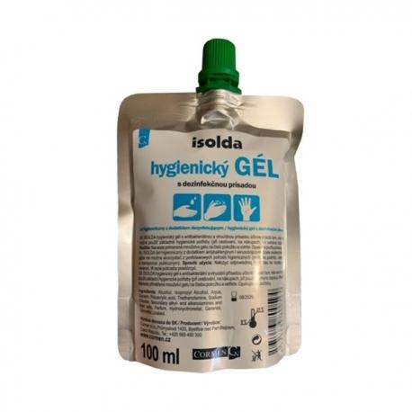 Dezinfekčný gél Isolda 100 ml s virucidnou a antimikrobiálnou prísadou