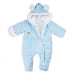 Zimný dojčenský overal Nicol Kids Winter modrý