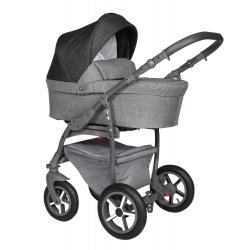 Q9 grey Baby Merc kombinovaný kočík s autosedačkou