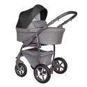 Q9 grey 3v1 Baby Merc kombinovaný kočík