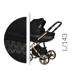 Faster III LIMITED black 3v1 Baby Merc kombinovaný kočík