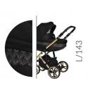 Faster III LIMITED black 2v1 Baby Merc kombinovaný kočík