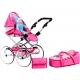Retro kočík pre bábiky 2v1 New Baby