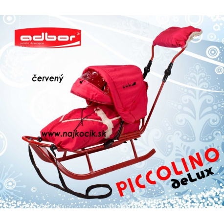 Piccolino Delux sánky Adbor