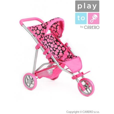 Športový kočík pre bábiky PlayTo Olivia