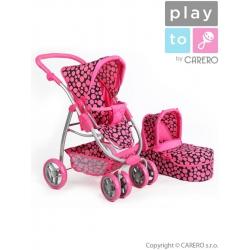 Multifunkčný kočík pre bábiky PlayTo Jasmínka